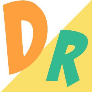 英字のファビコンのサンプル画像