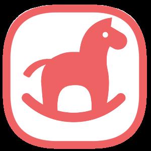 木馬のファビコンのサンプル画像